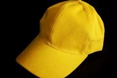 Jual Topi Bagus - Topi Polos - Topi Baseball Kuning