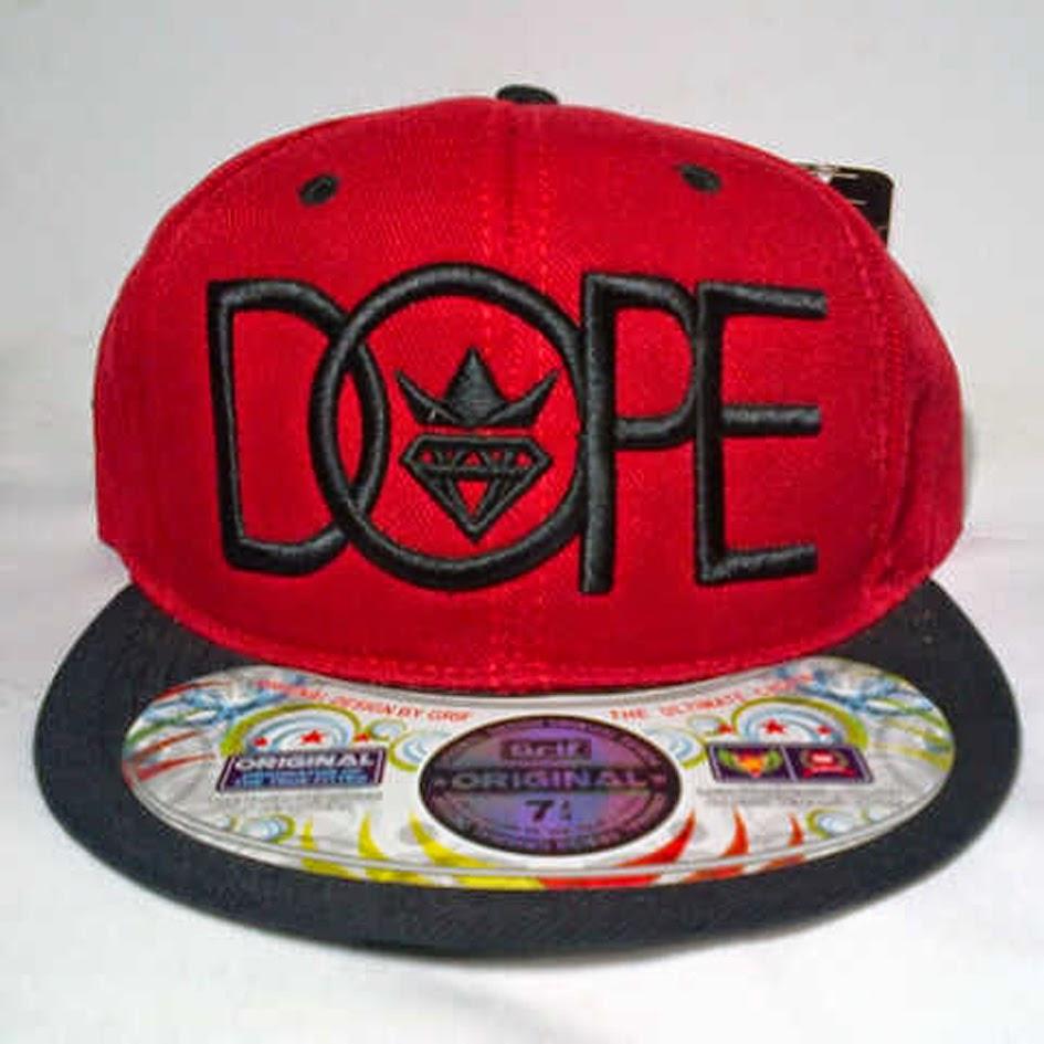 Topi Custom DOPE