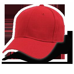 Topi Baseball merah