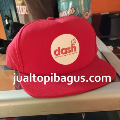 Topi Custom Dash Pesanan Topi Dash